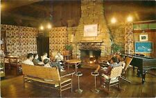 Nashville Indiana~Abe Martin Lodge Interior~Brown County State Park~1963