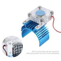 Motor Kühlkörper mit Fit Lüfter für 1/8 und 1/10 RC Autos Lüfterbasis Kühler