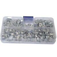 160Pcs T Nut Assortment Kits M3 M4 M5 for 2020 Aluminum Extrusion Profile T J8E1
