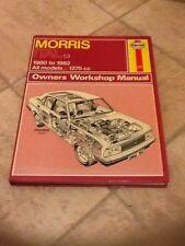 MORRIS ITAL 1.3 Haynes Manual 1980-1982 All Models 1275cc