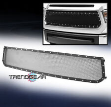 2014-2016 TOYOTA TUNDRA TRUCK FRONT MAIN UPPER RIVET MESH GRILLE GRILL BLACK NEW