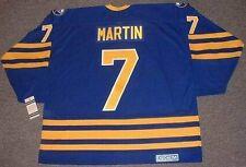 27f1260fb RICK MARTIN Buffalo Sabres 1980 CCM Vintage Throwback Away NHL Hockey Jersey