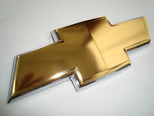 ~SUPER NEW & HUGE> CHROME CHEVROLET Bow Tie Emblem Suburban Corvette Silverado