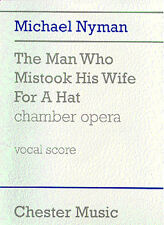 Michael Nyman The Man Who Mistook His Wife For A Hat Piano Music Book