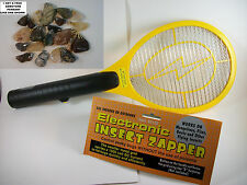 LARGE HIGH VOLTAGE POWER,Electric Fly Bug Mosquito Insect Swatter Zapper Raquet