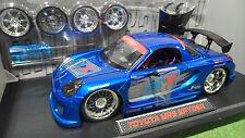 TOYOTA MR2 Spyder TUNING Bleu 1/18 JADATOYS IMPORT RACER 63194 voiture