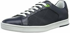 Hugo Boss Green Raya Tennis men's blue leather sneakers size 10UK (44EU)