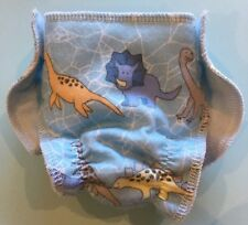 """Megastar Flannelette nappy nappies boys hand made dolls clothes for 17""""Baby Born"""