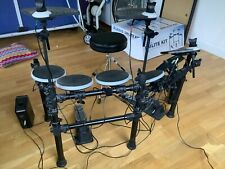 More details for alesis dmlite electric drum kit with 4 sticks and stool. barely used