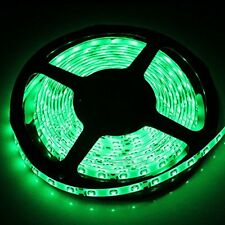 5M 3528 SMD Green 300 Led Strip Light Waterproof Car 12V 16.4ft Lamp Tape