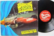 Valvoline motor oil RADIO ADVERTISING LP: Swinging Sights & Sounds Valvoline '69