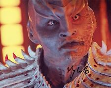 "~ MARY CHIEFFO Authentic Hand-Signed ""L'Rell Star Trek: Discovery"" 8x10 Photo C~"