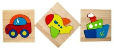 Wooden Jigsaw Toddlers Puzzles Preschool Educational Kid Toys Gift Vehicles
