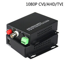 HD 1080P CVI AHD TVI 1CH Video Data Fiber optic Media Converter for HD CCTV