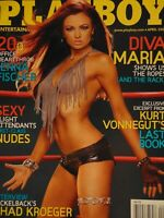 Playboy April 2008 | Regina Deutinger WWE Maria   #3654 #2167 #2168