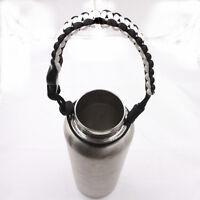 2017 new 1pcs best Water Bottle Handle for  paracord  bracelet white black