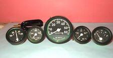 Jeep Willys Speedometer 12 V fits 1946-66 CJ-2A, 3A, 3B,M38, M38A1 Gauges Kit