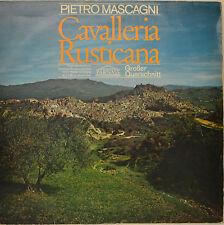 """PIETRO MASCAGNI - CAVALLERIA RUSTICANA 12"""" LP (O57)"""