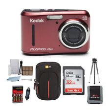Kodak PIXPRO Friendly Zoom FZ43 (Red) w/ SanDisk Ultra 80MB/s 32GB SDHC Bundle