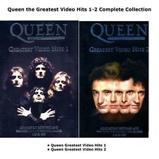 QUEEN THE GREATEST VIDEO HITS SEASON 1-2 COMPLETE COLLECTION DVD R2 UK Release