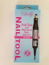 Chelly Nail tool, Nail file/Drill , High Speed Mini Engraver CH-242