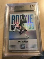 2017-18 Panini Status Rookie Credentials RC Kyle Kuzma #11 BGS 9.5 Lakers
