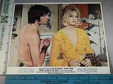 Rare Orig VTG 1970 Goldie Hawn There's A Girl In My Soup Movie Lobby Photo Card