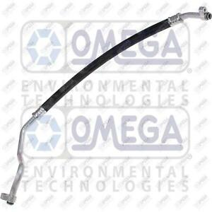 Omega A/C Suction Hose Fits: Honda Accord / Crosstour 2.4L (See Chart)