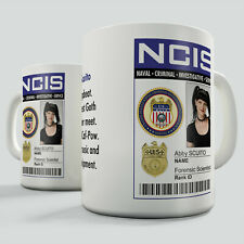 NCIS Badge, Abby Scuito Gift Mug - With short character description