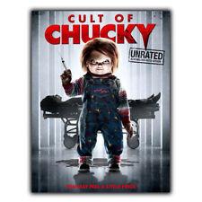Juego de niños 7 culto de Chucky Película De Placa De Pared Letrero de metal película Anuncio Cartel
