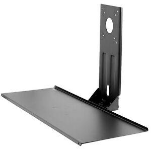 "VIVO Computer Keyboard & Mouse Platform VESA Mount Attachment 25.5"" x 8"" Tray"
