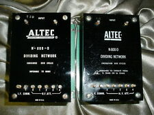 Pair of Altec N-800-D Crossovers used in Iconic Systems and Voice of the Theater