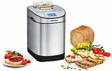 Rommelsbacher Ba 550 - Breadmaker With Ingredients, Stainless Steel