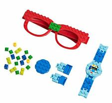 PlayBuild Building Bricks Digital Watch and Eye Glasses Set, Cool Toys for kids