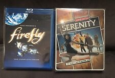 Used Bluray Lot: Firefly Complete Series & Limited Edition Serenity Steelbook