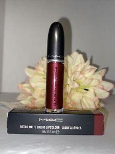MAC Retro Matte Liquid -128 Crowned- Lipcolour Lipstick Full Size NIB Fast/Free