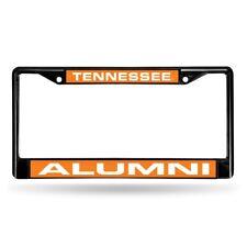 Tennessee Volunteers Alumni NCAA Black Metal Laser Cut License Plate Frame