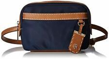 Tommy Hilfiger Julia Convertible Belt Bag Crossbody Navy Blue Nylon Fanny Pack