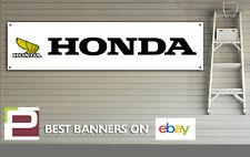 Honda Classic Motorcycle Wing logo workshop or garage pvc banner sign, eyelets