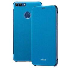 Genuine Huawei P Smart (2019) Flip Cover Case Sleep/Wake - Blue