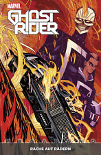 Ghost Rider MegaBand 1-Revenge on Wheels-German-Panini-Comic - New