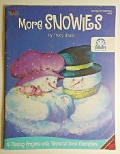 More Snowies Trudy Beard 13 Decorative Tole Painting Patterns Snowmen Plaid Xmas