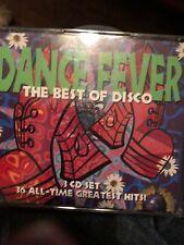 DANCE FEVER: BEST OF DISCO Dancing 36 ALL-TIME FAVORITES  3 CD - BOX SET - VG
