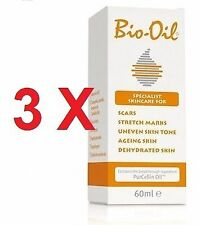 3 X BIO-OIL 60 ml   100 % ORIGINAL BIO OIL      MONOVARSALUD
