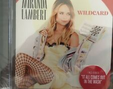 MIRANDA LAMBERT - Wildcard CD 2019 RCA / Sony BRAND NEW!