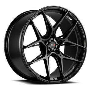 "20"" Savini SV-F5 Gloss Black 20x9 20x11 Wheels Rims Fits Mustang Shelby GT350"