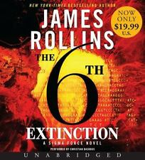 James Rollins THE 6TH EXTINCTION Unabridged CD *NEW* FAST Ship in a BOX !
