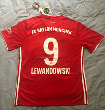 Bayern Munich FC 20/21 Home Jersey #9 ROBERT LEWANDOWSKI Size Medium Adidas