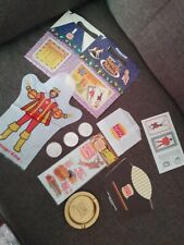 Vintage 1980's Burger King Lot w/Ashtray Magic Meal Box Coins Puffy Stickers