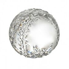 Waterford Crystal Baseball Paperweight Sports Collectible New In Box #3286664400